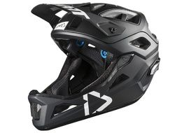 Leatt DBX 3.0 Enduro V1 Helmet Black / White 2020