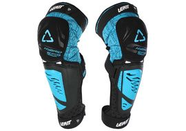 Leatt 3DF Hybrid EXT knee guards Blue 2018