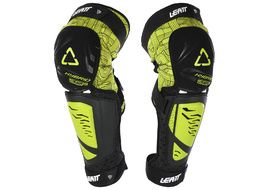 Leatt 3DF Hybrid EXT knee guards Lime 2018