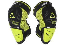 Leatt 3DF Hybrid knee guards Lime 2018
