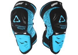 Leatt 3DF Hybrid knee guards Blue 2018