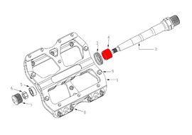 Reverse Components DU bushings kit for Escape pedals