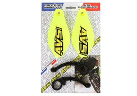 AVS Hand Guard with plastic support - Neon yellow 2019