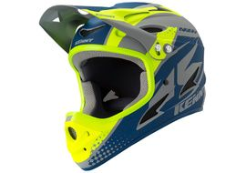 Kenny Down Hill Helmet Grey Navy 2019