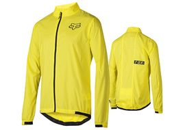 Fox Attack Wind Jacket Yellow