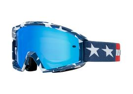 Fox Main Stripe Goggle White / Red / Blue 2018