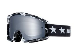 Fox Main Stripe Goggle Black / White 2018