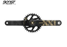 Sram XX1 Eagle DUB Boost Direct Mount 34T 1x12s crankset without BB Gold 2019