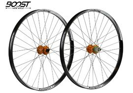 "Hope Tech 35W Pro 4 27,5"" Boost Wheelset Orange 2019"