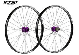"Hope Tech 35W Pro 4 27,5"" Boost Wheelset Purple 2019"