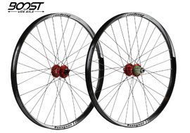 "Hope Tech 35W Pro 4 27,5"" Boost Wheelset Red 2019"