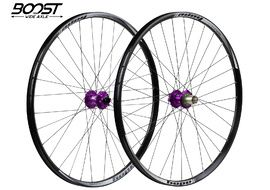 Hope Tech Enduro Pro 4 Wheelset 29'' Boost Purple 2019