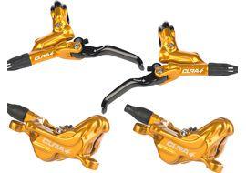 Formula Cura 4 disc brake set gold no rotor and adapter 2020