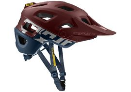 Mavic Crossmax Pro Helmet Red and Blue 2019