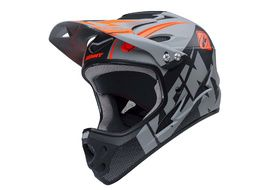 Kenny Down Hill Helmet Grey and Black 2018