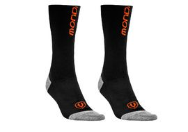 Mondraker Basics High Socks Black and Orange 2018