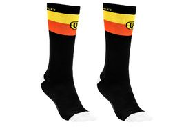 Mondraker Factory High Socks Yellow and Orange