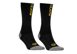 Mondraker Basics High Socks Black and Yellow 2018