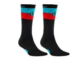 Mondraker Factory High Socks Blue and Red 2018