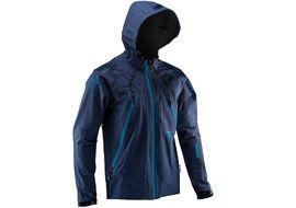 Leatt DBX 5.0 All Mountain Jacket Black Ink Blue 2020