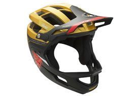 Urge Gringo de la Pampa Helmet Gold and Black 2019