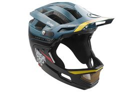 Urge Gringo de la Sierra Helmet Blue and Black 2019