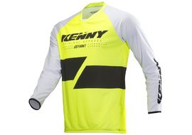 Kenny Defiant Jersey Neon Yellow 2019