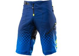 Kenny Factory Short Army Blue and Neon Yellow 2019