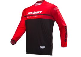 Kenny Elite Jersey Black / Rouge 2019