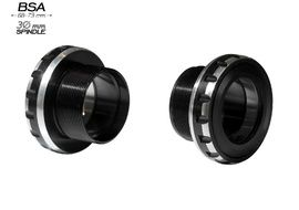 Black Bearing B5 BSA 68/73 Bottom Bracket for 30 mm spindle 2019