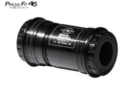 Black Bearing B5 PF46 68/73 Bottom Bracket for 24 mm and GXP (22/24 mm) spindle