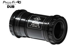 Black Bearing B5 PF46 68/73 Bottom Bracket for DUB (28,99 mm) spindle