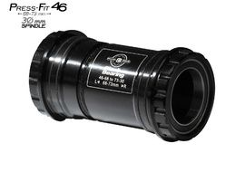 Black Bearing B5 PF46 68/73 Bottom Bracket for 30 mm spindle