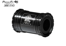 Black Bearing B5 PF46 68/92 Bottom Bracket for 24 mm and GXP (22/24 mm) spindle