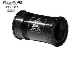 Black Bearing B5 PF46 68/92 Bottom Bracket for 30 mm spindle