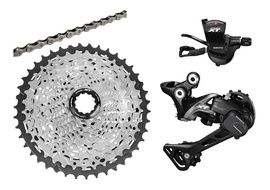 Shimano XT M8000 1x11s Groupset without Crank 2019