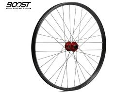 "Hope Fortus 35 Red 27.5"" Boost Front Wheel 2019"