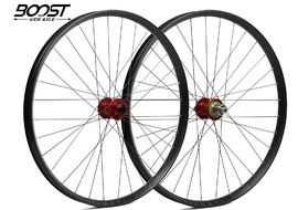 "Hope Fortus 35 Red 27.5"" Boost Wheelset 2020"