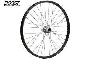 "Hope Fortus 35 Silver 27.5"" Boost Front Wheel 2019"