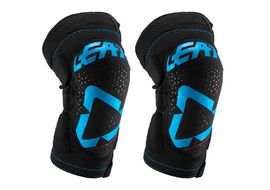 Leatt 3DF 5.0 ZIP Knee Guard  Blue / Black 2019