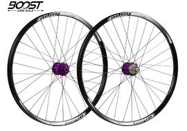 "Hope Tech Enduro Pro 4 Wheelset 27.5"" Boost Purple 2019"