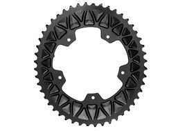 Absolute Black Premium Sub Compact Oval 110/5 Chainring - Black 2019