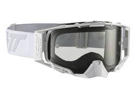 Leatt Velocity 6.5 Goggle - White/Grey - Grey Lense 2019