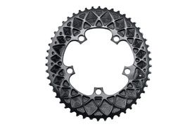 Absolute Black Premium Road Oval 110/5 Chainring for Sram - Black 2019