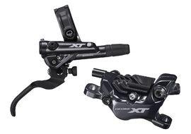 Shimano XT M8120 4 Pistons Rear Disc Brake Black - Resin Pads 2020