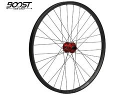 "Hope Fortus 26 Red 27.5"" Boost Front Wheel 2020"