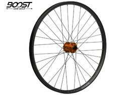 "Hope Fortus 26 Orange 27.5"" Boost Front Wheel 2020"