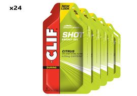 Clif Bar Box of 24 Shot Energy Gel Citrus