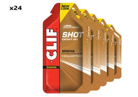 Clif Bar Box of 24 Shot Energy Mocha