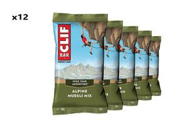 Clif Bar Box of 12 Energy Bar Alpine Muesli